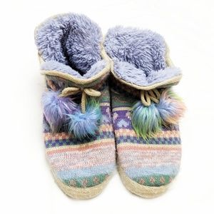 ⭐Muk Luks | Colorful Patterned Slippers